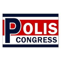 Polis for Congress Bumper Decal