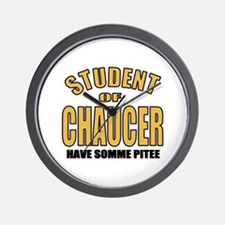Chaucer Student Wall Clock