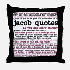 Cute Stephenie meyers twilight series Throw Pillow