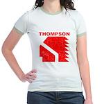 Thompson High Warriors Jr. Ringer T-Shirt
