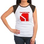 Thompson High Warriors Women's Cap Sleeve T-Shirt