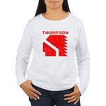 Thompson High Warriors Women's Long Sleeve T-Shirt