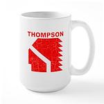 Thompson High Warriors Large Mug