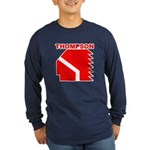 Thompson High Warriors Long Sleeve Dark T-Shirt