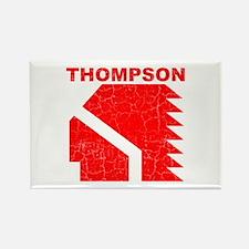 Thompson High Warriors Rectangle Magnet