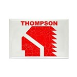 Thompson High Warriors Rectangle Magnet (10 pack)