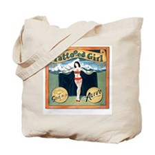 Tattooed Girl, Tote Bag