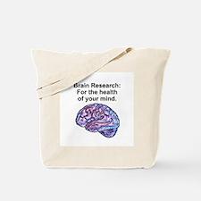 Brain Research Tote Bag