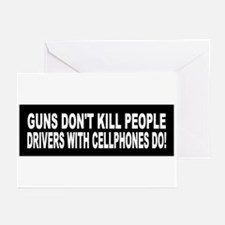 Guns Don't Kill People... Greeting Cards (Pk of 10