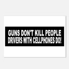Guns Don't Kill People... Postcards (Package of 8)