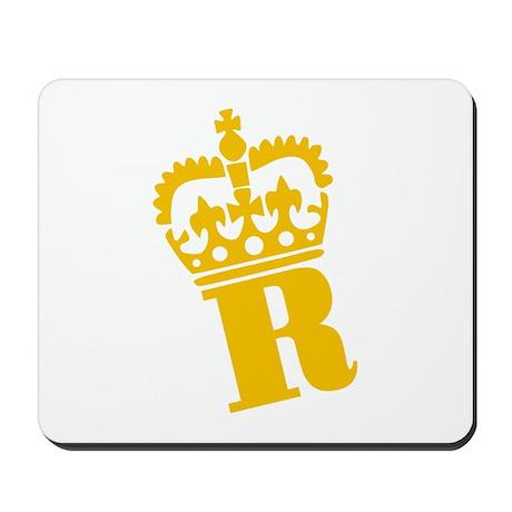 R - character - name Mousepad