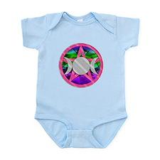 Pink Pentagram Triple Goddess Infant Bodysuit