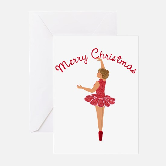 Christmas Dancer Greeting Cards (Pk of 10)
