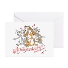 ... of the silvery moooon. Greeting Cards (Pk of 1