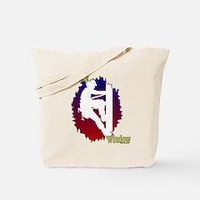 Linemen: My Office Window Tote Bag