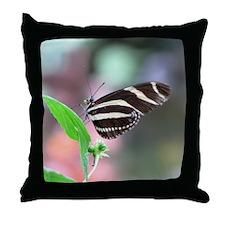 Helaine's Butterfly Throw Pillow