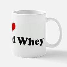 I Love Curds and Whey Mug