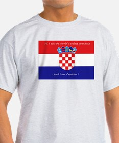 croatian grandma T-Shirt