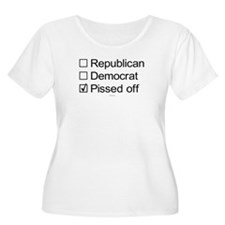 Not Republican, not Democrat, Pissed Off T-Shirt