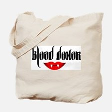 Cute Blood donor Tote Bag