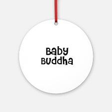 Baby Buddha Ornament (Round)
