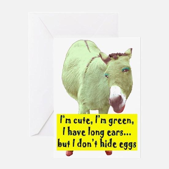 CUTE, LONG EARS Greeting Card