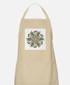 green and red fish snowflake  BBQ Apron