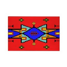 Lakota Design Rectangle Magnet