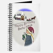 Happy Birthday Baby Jesus Journal