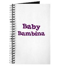 Baby Bambina Journal