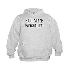 Eat, Sleep, Weightlift Hoodie