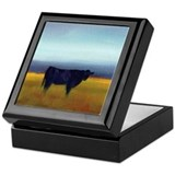 Black angus Keepsake Boxes