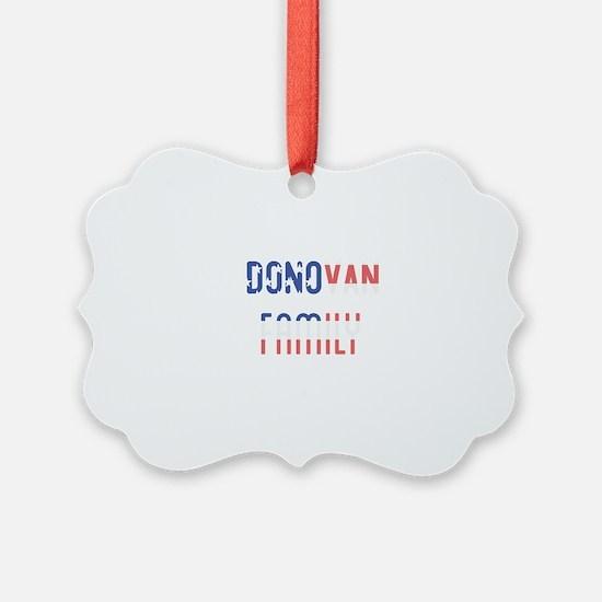 Donovan Family Ornament
