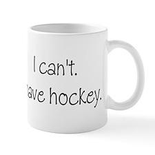 I can't. I have... Mug