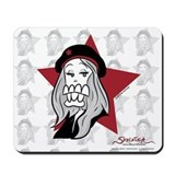 Fashionista mouse pad Mouse Pads