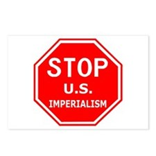 Stop U.S. Imperialism Postcards (Package of 8)
