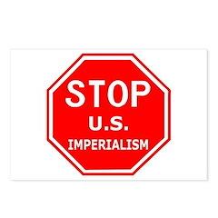 Stop U.S. Imperialism Postcards (Package of 8)