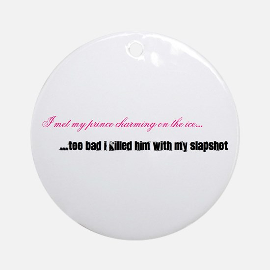 Prince Charming (Pink) Ornament (Round)