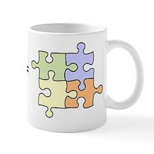 Vaccines Equal Autism Mug