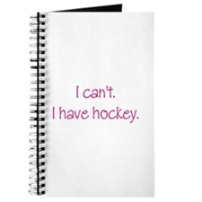 I Have Hockey (Pink) Journal