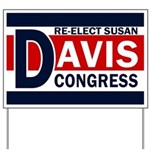 Re-Elect Susan Davis Yard Sign
