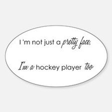 Pretty Face Oval Decal