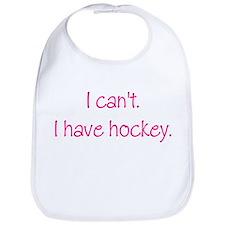 I Have Hockey (Pink) Bib