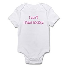 I Have Hockey (Pink) Infant Bodysuit