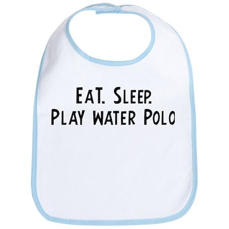 Eat, Sleep, Play Water Polo Bib