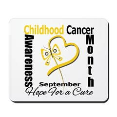Childhood Cancer Month v2 Mousepad