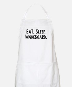 Eat, Sleep, Wakeboard BBQ Apron