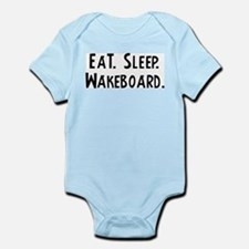 Eat, Sleep, Wakeboard Infant Creeper