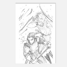 Battle Elves Postcards (Package of 8)