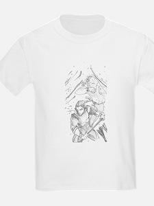 Battle Elves Kids T-Shirt